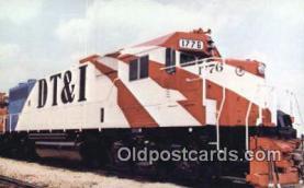 trn001295 - Detroit Toledo And Ironton, Railroad Company's 1776, Michigan, MI USA Trains, Railroads Postcard Post Card Old Vintage Antique