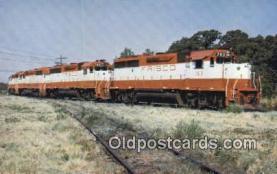 trn001296 - St Louis San Francisco, Railway Number 763, Irving, Texas, TX USA Trains, Railroads Postcard Post Card Old Vintage Antique