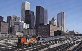 trn001302 - Rail Tempo Train, Toronto Union Station, Ontario, Canada Trains, Railroads Postcard Post Card Old Vintage Antique