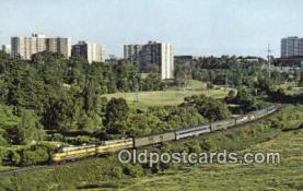trn001303 - Ontario Northland Railway The Northland, Toronto, Ontario, Canada Trains, Railroads Postcard Post Card Old Vintage Antique