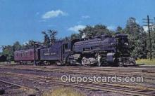 trn001325 - Canadian Pacific Class P2c, Mattawamkeg, Maine, ME USA Trains, Railroads Postcard Post Card Old Vintage Antique