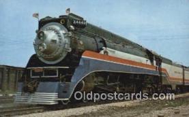 trn001334 - American Freedom Train, Lagrange, Illinois, IL USA Trains, Railroads Postcard Post Card Old Vintage Antique
