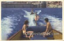 trn001368 - Lake Mead And Hoover Dam Trains, Railroads Postcard Post Card Old Vintage Antique