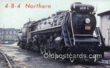 trn001379 - 4-8-4 Northern, Canada Trains, Railroads Postcard Post Card Old Vintage Antique