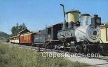 trn001420 - The Narrow Gauge 1800 Train, Black Hills, South Dakota, SD USA Trains, Railroads Postcard Post Card Old Vintage Antique