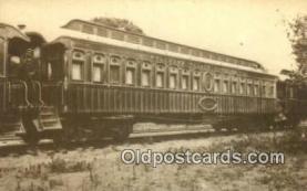 trn001434 - Repro Image -  Pullmas Pallace Sleeping Car, Palmyra, San Francisco, California, CA USA Trains, Railroads Postcard Post Card Old Vintage Antique