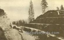 trn001436 - Repro Image - Fort Point Cut, PRR Trains, Railroads Postcard Post Card Old Vintage Antique
