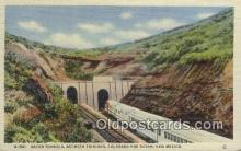 trn001458 - Raton Tunnels, Trinidad, Colorado, CO USA Trains, Railroads Postcard Post Card Old Vintage Antique