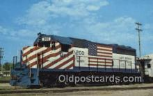 trn001459 - Katy 200,Parsons, Kansas, KS USA Trains, Railroads Postcard Post Card Old Vintage Antique