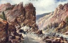 trn001462 - Sphinx Head Trains, Railroads Postcard Post Card Old Vintage Antique