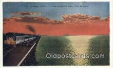 trn001470 - Overland Limited, Salt Lake, Utah, UT USA Trains, Railroads Postcard Post Card Old Vintage Antique