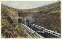trn001472 - Raton Tunnels, Trinidad, Colorado, CO USA Trains, Railroads Postcard Post Card Old Vintage Antique