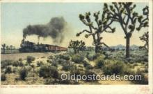 trn001486 - California Limited, Canyon Diablo, Arizona, AZ USA Trains, Railroads Postcard Post Card Old Vintage Antique