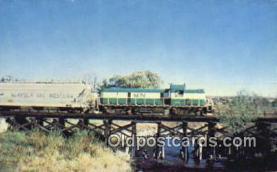 trn001514 - Michigan Northern Railway, Unit Number 1501, Rockford, Michigan, MI USA Trains, Railroads Postcard Post Card Old Vintage Antique