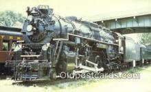 trn001515 - Roanoke Transportation Museum, Number 763, Chicago, Illinois, IL USA Trains, Railroads Postcard Post Card Old Vintage Antique