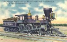 trn001517 - The General, Chattanooga, Tennessee, TN USA Trains, Railroads Postcard Post Card Old Vintage Antique