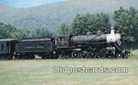 trn001518 - Southwest Virginia Scenic Railroad, Mendota, Virginia, VA USA Trains, Railroads Postcard Post Card Old Vintage Antique