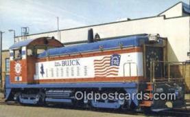 trn001535 - Buick Motors Division Of General Motors Number 1776 Trains, Railroads Postcard Post Card Old Vintage Antique