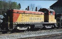 trn001537 - The Pittsburg And Shawmut Railroads Betsy Ross, Allegheny Mountains, Pennsylvania, PA USA Trains, Railroads Postcard Post Card Old Vintage Antique