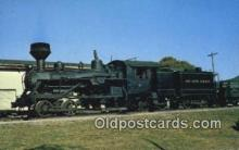 trn001544 - Heisler Engine Trains, Railroads Postcard Post Card Old Vintage Antique