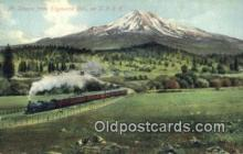 trn001564 - Mt Shasta, Edgewood, California, CA USA Trains, Railroads Postcard Post Card Old Vintage Antique