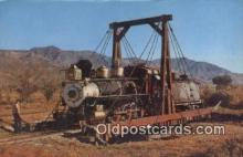 trn001577 - Slim Princess, Colorado, CO USA Trains, Railroads Postcard Post Card Old Vintage Antique