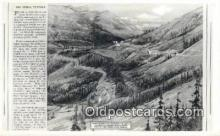 trn001582 - Spiral Tunnels, Mt Ogden, Utah, UT USA Trains, Railroads Postcard Post Card Old Vintage Antique
