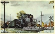 trn001593 - The Pittsburgh And Lake Erie Railroad Company Trains, Railroads Postcard Post Card Old Vintage Antique