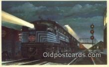 trn001599 - The Pittsburgh And Lake Erie Railroad Company Trains, Railroads Postcard Post Card Old Vintage Antique