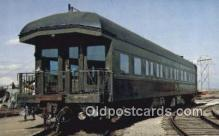 trn001612 - Saint Louis San Francisco Business Car No 3, Oklahoma, Trains, Railroads Postcard Post Card Old Vintage Antique