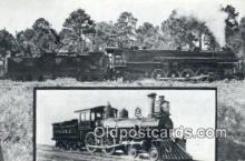 trn001628 - No 10, Flaggers Folly, Schenectady Engine, Florida, FL USA Trains, Railroads Postcard Post Card Old Vintage Antique