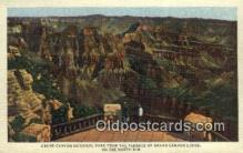 trn001665 - Grand Canyon National Park, USA Trains, Railroads Postcard Post Card Old Vintage Antique
