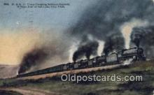 trn001671 - D and RG Train, Soldiers Summit, Utah, UT USA Trains, Railroads Postcard Post Card Old Vintage Antique