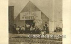trn001676 - Repro image, Snowflake Hotel, Uintah, Utah, UT USA Trains, Railroads Postcard Post Card Old Vintage Antique