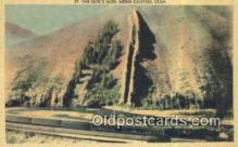 trn001679 - The Devils Slide, Weber Canyon, Utah, UT USA Trains, Railroads Postcard Post Card Old Vintage Antique