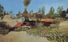 trn001706 - Old 41, Knots Berry Farm, Buena Park, California, CA USA Trains, Railroads Postcard Post Card Old Vintage Antique