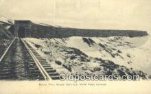 trn001722 - Rollins Pass, Moffat Road, Colorado, CO USA Trains, Railroads Postcard Post Card Old Vintage Antique