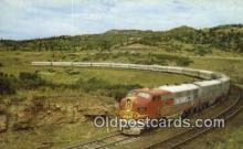 trn001738 - Santa FE Streamlined Fleet Trains, Railroads Postcard Post Card Old Vintage Antique