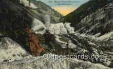 trn001763 - Rotary Snow Plow Trains, Railroads Postcard Post Card Old Vintage Antique