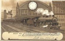 trn001766 - Trains, Railroads Postcard Post Card Old Vintage Antique