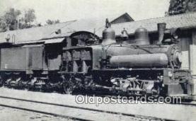 trn001785 - Camino Placerville Lake Tahoe Railroad Trains, Railroads Postcard Post Card Old Vintage Antique