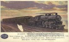 trn001788 - Twentieth Century Limited, Chicago, Illinois, IL USA Trains, Railroads Postcard Post Card Old Vintage Antique