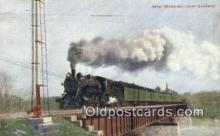 trn001790 - West Ward Fast Express Trains, Railroads Postcard Post Card Old Vintage Antique