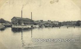 trn001794 - Paper Mill Trains, Railroads Postcard Post Card Old Vintage Antique