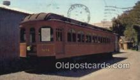 trn001798 - Liberty Bell Car No. 801, Bloomsburg, Pennsylvania, PA USA Trains, Railroads Postcard Post Card Old Vintage Antique