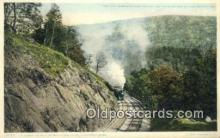 trn001812 - Berkshire Hills, Huntington, Massachusetts, MA USA Trains, Railroads Postcard Post Card Old Vintage Antique