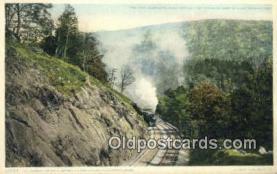 trn001812 - Berkshire Hills, Huntington, Massachusetts, MA USA Trains, Railroads Postcard Post Card Old Vintage Antique