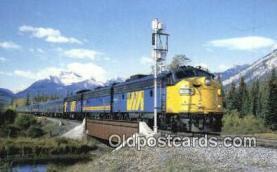 trn001821 - Canadian Trains, Railroads Postcard Post Card Old Vintage Antique