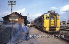 trn001822 - Passenger Car, CP Route, Toronto, Ontario Trains, Railroads Postcard Post Card Old Vintage Antique