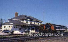 trn001823 - SW1200 1393, Nakina, Ontario Trains, Railroads Postcard Post Card Old Vintage Antique